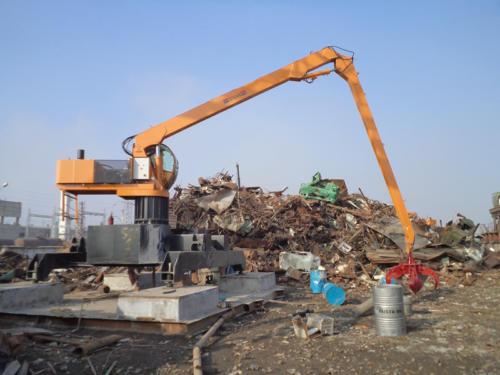 scrap crane